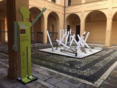 Work in progress for the opening! Interni Open Border _ Piacenza starts today at 06.00 p.m.
