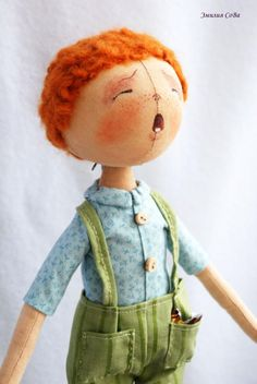 pattern for doll with round head