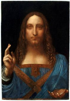 Salvator Mundi is a painting of Christ as Salvator Mundi (Savior of the World) recently attributed to Leonardo da Vinci. In France, Leonardo da Vinci painted the subject, Jesus Christ, for Louis XII of France between 1506 and 1513 Modigliani, Mona Lisa, Michelangelo, Rembrandt, Leonardo Paintings, Most Expensive Painting, Expensive Art, Salvator Mundi, National Gallery