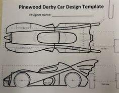 PrintablePinewoodDerbyCarTemplates  Volume  Issue   Bsa