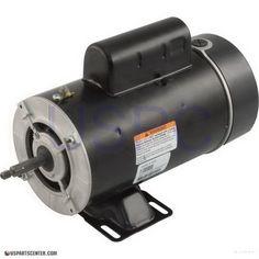 AOS Motor 48FR 2HP 2SPD 220v, Extra Low Running Amps