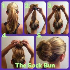 The Sock Bun