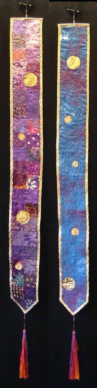 Pieced Banner - Purple