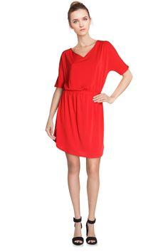 Vente Etam / 12499 / Robes / Sans Manches et MC Casual / Robe Rouge