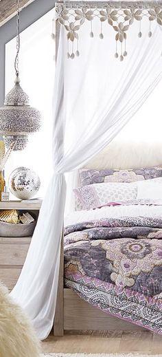 Girls Bedding | Bohemian Quilt