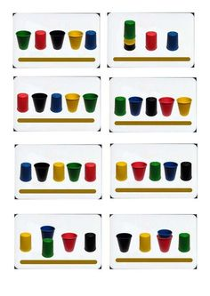 Discover thousands of images about [Crazy cups] Nouvelles cartes - Discutons jeux ! Occupational Therapy Activities, Preschool Education, Toddler Activities, Learning Activities, Preschool Activities, Visual Perception Activities, School Ot, Busy Boxes, Montessori Math