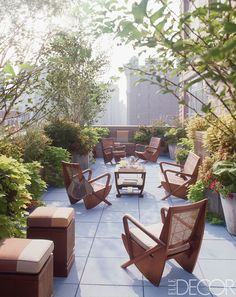 Manhattan Terrace - ELLEDecor.com
