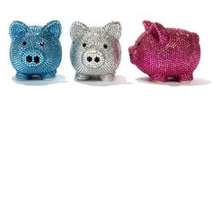 piggy banks - Have many of them - different kinds, different sizes -- love my piggy banks.