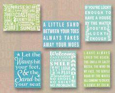 Wood Signs/Wall Art | The Beach House LLC