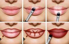 maquillage des lèvres tutoriel fascinant #fashion #style #lips
