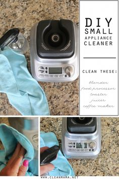 Our small appliances get a lot of use. From making toast to blending almost daily smoothies, it doesn't take long for smudges, drips and spatters to appear. In an effort to keep them clean, I use a simple DIY cleaner to get the job done. It is ideal for the exterior of just about any small... (read more...)