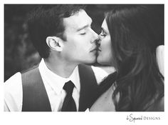 d-Squared Designs Wedding Photography. The kiss.