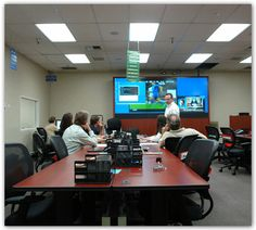 Metro EOC Furniture  and DLP Video Wall