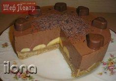 Бананово-шоколадный торт » Новости Казахстана, все последние новости России и новости мира, новость дня