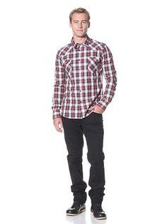 Simon Hart Men's Joe Plaid Shirt