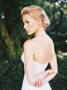 Elegant Victoria's Secret Bridals - Once Wed Wedding Hair And Makeup, Wedding Updo, Diy Hairstyles, Wedding Hairstyles, Bridal Hairstyle, Once Wed, Bridal Beauty, Bridal Portraits, Beautiful Bride