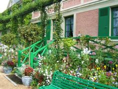 Claude Monet's house and garden ~ Giverny France