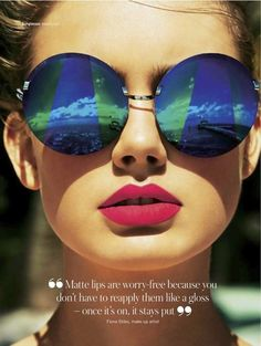 3b4eaf5f1b NEVER go out without your lipstick or your sunglasses....they transform your