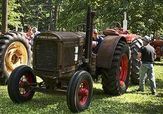 Crank tractor.....