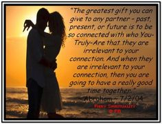 The greatest gift to your partner