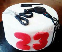 Haircut cake