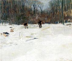 The Ice Cutters - Julian Alden Weir