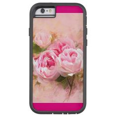 Pink Rose Tough Xtreme iPhone 6 Case