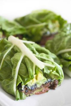Black Bean & Avocado Lettuce Wrap | Easy Cookbook Recipes.