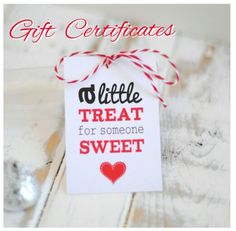 Show your loved one just how much you care with our Gift Certificates attached to your flowers and chocolates.