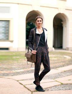 Milan Fashion Week Street Style   ELLE UK