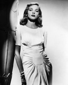 because Lauren Bacall DONT TAKE NO S*%!