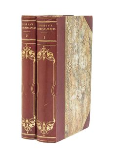 Reminiscences of a Literary Life; by the Reverend Thos. Frognall Dibdin, D.D. Thoamds Frognall Dibdin.