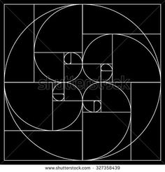 Golden ratio pattern