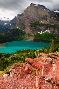 Grinell Lake, Glacier National Park, Montana