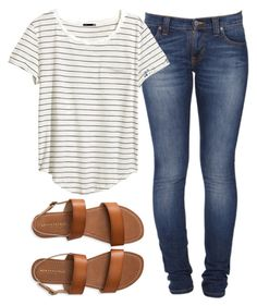 """Untitled #11"" by laceylynnae on Polyvore featuring Aéropostale, Nudie Jeans Co. and H&M"