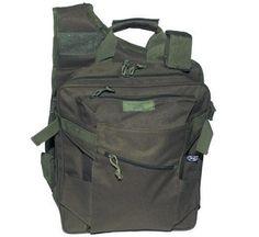 MFH Weste, Rucksack und Taschen in einem, oliv / mehr Infos auf: www.Guntia-Militaria-Shop.de