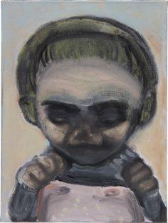 Marlene Dumas, 'Birth Marks', 1991 Marlene Dumas Birth Marks, 1991 Oil on canvas 15 7/10 × 11 9/10 in 40 × 30.2 cm Estimated value: $150,000–$200,000 STARTING BID $120,000