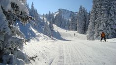 Im Winter verwandelt sich das Wandergebiet um die Ebenalp in das Skigebiet Ebenalp-Horn.