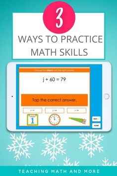 My kids LOVE these games! Perfect for any middle school math classroom. Students practice expressions, equations, and percents skills. All games are self checking for fast and easy fun. Students in grades 6, 7, 8 agree that math activities that are engaging are the best! Try a digital math game today!