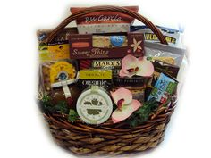 Gluten free get well basket gluten free food gifts pinterest deluxe healthy mothers day basket negle Choice Image