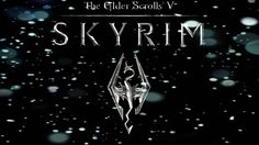 A variation of the classic Skyrim wallpaper. This one features the Skyrim Logo with falling snow. Skyrim Wallpaper, Bliss, Geek Stuff, Snow, Wallpapers, Logo, Digital, Classic, Pictures