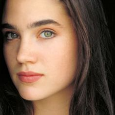jennifer connelly Pictures, Images and Photos Beautiful Celebrities, Beautiful Actresses, Beautiful Eyes, Most Beautiful Women, Jennifer Connelly Young, Jenifer Lawrence, Actrices Hollywood, Green Eyes, Pretty Face