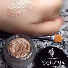 I am in love with this eye shadow. It is a creamy shadow that looks like crushed diamonds. It is great to wear on it's own or over other shadows to give it a little sparkle. Like all of our products it has a love it guarantee so you can buy worry free. #younique https://www.youniqueproducts.com/lashestothemax/products/view/US-22501-00#.VRte2eFjpaY