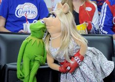 Kermit the Frog and Miss Piggy - The latest celebrity breakup