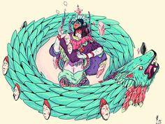 Nijah Lefevre https://thedancingrest.com/2013/07/25/random-illustrations-by-nijah-lefevre/
