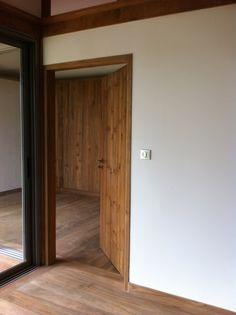 Recycled teak interior( solid door,flooring,wallsiding )