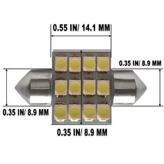 Fits Mini One D R50 H7 501 100w Super White Xenon Low//Slux LED Side Light Bulbs
