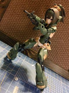 Character Concept, Concept Art, Character Design, Soldado Universal, Female Action Poses, Robots Characters, Frame Arms Girl, Sci Fi Comics, Gundam Custom Build