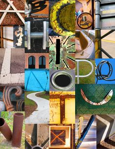 "22 of the world's most creative alphabets. reminds me of ""Alphabet City"" - great read aloud Letter Photography, Photography Classes, Photography Projects, Alphabet Photography Letters, Abstract Photography, Creative Photography, Alphabet Photos, Alphabet Book, Photo Letters"