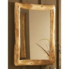 Mountain Woods Aspen Log Bath Mirror at Cabela's $399.99